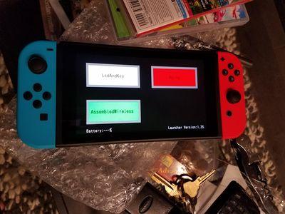 Factory Setup - Nintendo Switch Brew